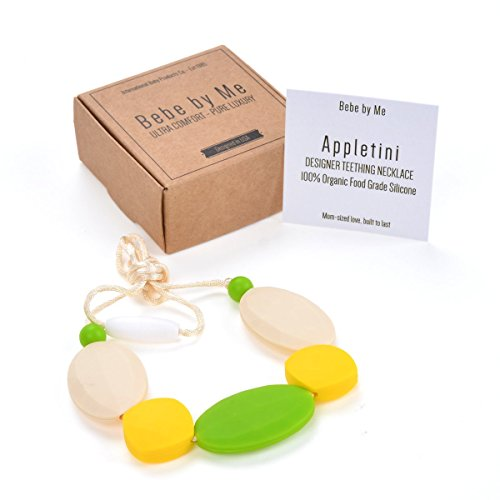 - Bebe by Me 'Appletini' Silicone Teething Necklace for Nursing Moms