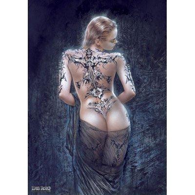 - Luis Royo La Flor Del Dolor Redemption Woman Decorative Fantasy Sexy Art Poster Print 24 by 36
