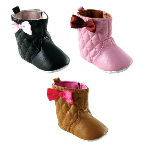 Girl's Quilted Boots