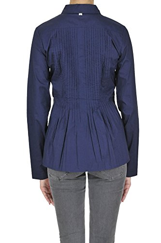 Twin-Set Femme MCGLTPC03081E Bleu Coton Chemise