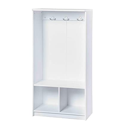 Amazon.com : Wooden Lockers for Toddlers Two Cubby Kids ...