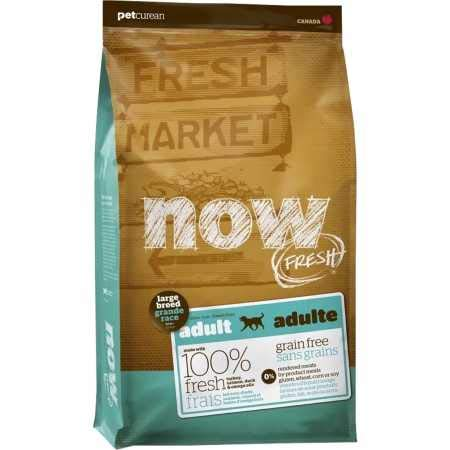 6. Now Fresh Grain-Free Large Breed Adult Recipe Dry Dog Food