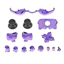MonkeyJack Bumpers Triggers Buttons Dpad LB RB LT RT for NEW Xbox One Controller Purple