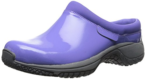 Merrell Women's Encore Slide Pro Shine Slip Resistant Work Shoe, Periwinkle Patent, 6 M US