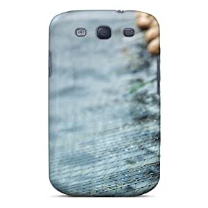 Hot Snap-on Fishnet Hard Cover Case/ Protective Case For Galaxy S3