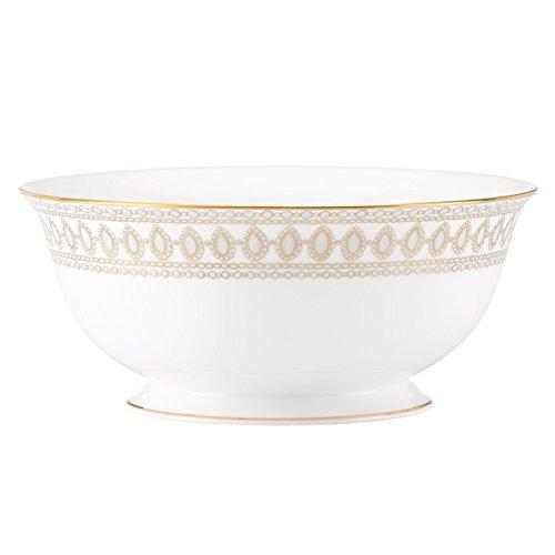 Lenox Marchesa Gilded Pearl Serving Bowl, White -  855305