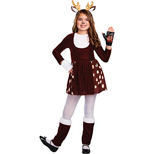 Wal-Mart Stores Inc. Girls Hunting Doe Deer Halloween Costume, Small 4-6