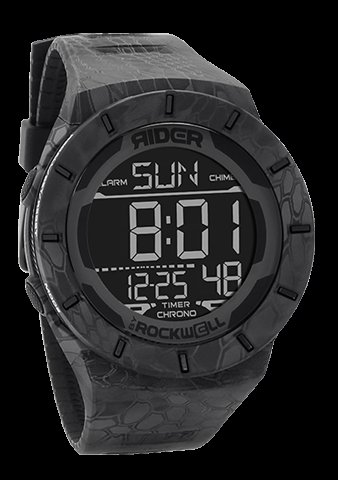 Rockwell Time RCL-KRY1-1 Coliseum Digital Dial Watch, Kryptek Typhon by Rockwell Time