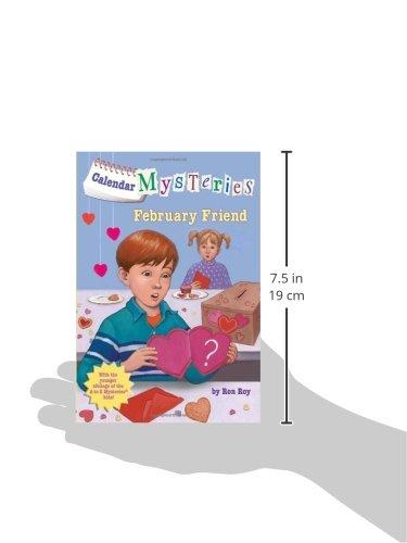 Buy new february friend calendar mysteries