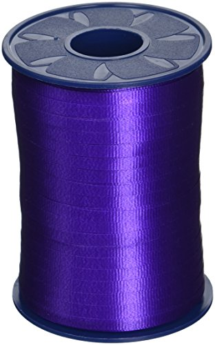 (Morex Poly Crimped Curling Ribbon, 3/16-Inch by 500-Yard, Purple)