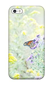 Matt C Brown Perfect Tpu Case For Iphone 5/5s/ Anti-scratch Protector Case (butterfly)