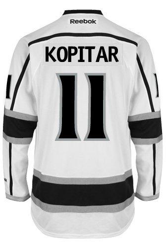 Anze Kopitar Los Angeles Kings Reebok Premier Away Jersey NHL Replica