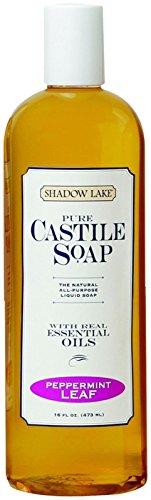 Shadow Lake Castile Soap Liquid - Peppermint - 16 oz