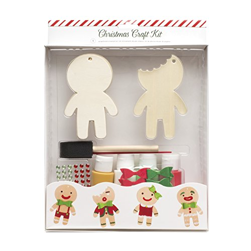 (American Crafts Gingerbread Ornament Kit 55)