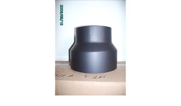 Humo Tubo Reducción 180 - 150 Reducción Reductor Estufa (Color Gris: Amazon.es: Bricolaje y herramientas