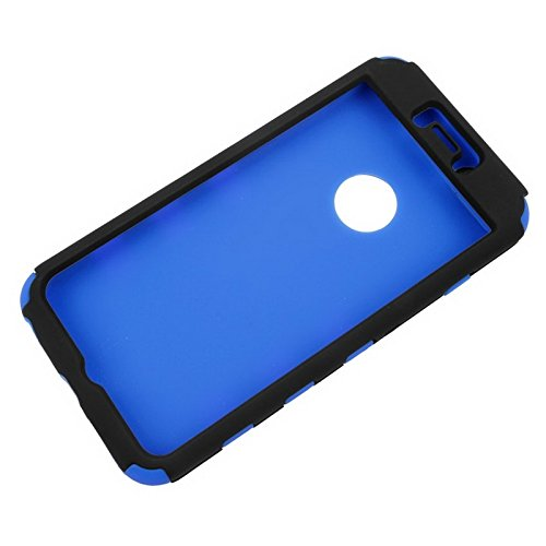 Phone Taschen & Schalen Silikon + Hartplastik Kombinationsetui für iPhone 6 Plus & 6S Plus ( Color : Blue )