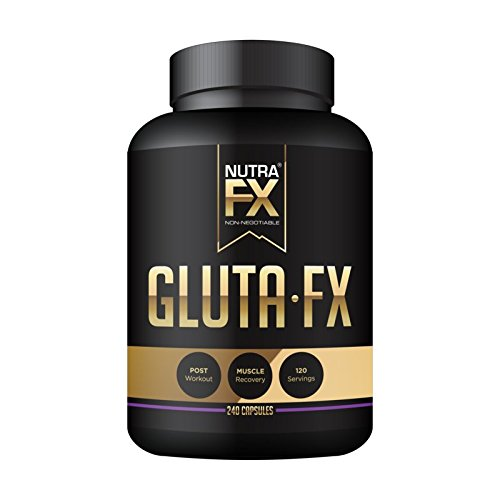 NUTRAFX L-Glutamine Capsules 1000 mg per Serving 240 Capsules