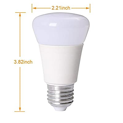 Derlights E27 5W 16 Colours Changing RGB LED Light Bulb With Remote Controller, Perfect for Party, Festival and Children's Night Lighting.