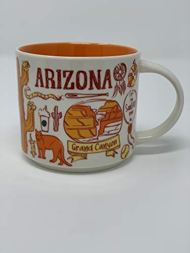 Starbucks Been There Series Collection Arizona Ceramic Coffee Mug New -