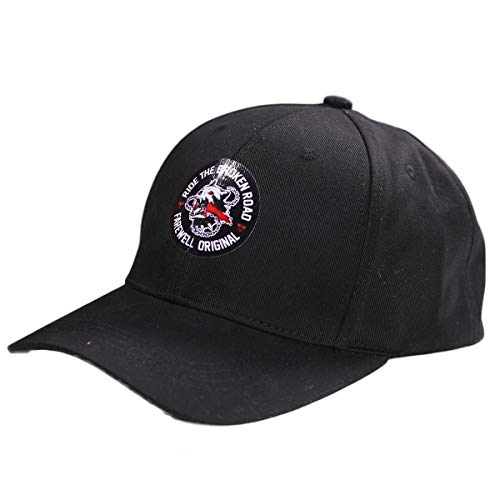 (Deacon St.John Hat Game Cosplay Baseball Cap Costume Accessory Black Cotton)