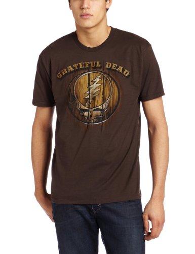 Grateful Dead Halloween Shirt (Liquid Blue Men's Grateful Dead Dead Brand T-Shirt, Chocolate,)