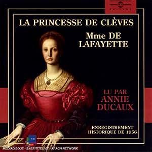 Madame de lafayette la princesse de cleves lu par for Lafayette cds 30