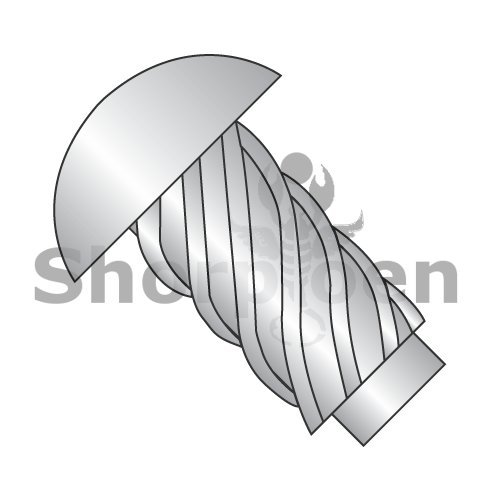 Round Head Type U Drive Screw 18-8 Stainless Steel 14 x 3/4 (Box of 3000) weight36.69Lbs by Korpek.com