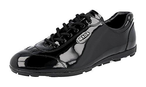 Prada 3E4900 Women's 3E4900 Prada Leather Sneaker B07F7X6V7S Shoes f8d3e4