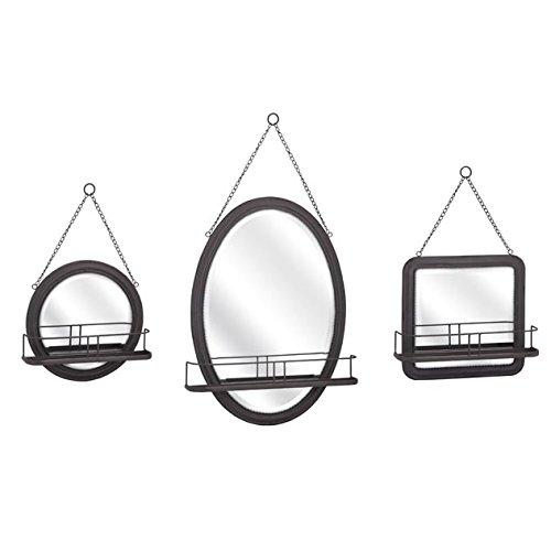 Imax 88922 3 Ella Elaine Shaving Mirrors  Set Of 3