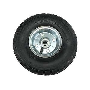 """First4Spares–2x 10""""neumático ruedas para carretillas, carritos, carretillas"""
