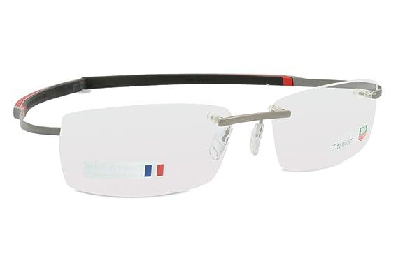 d8403c9cf1 Tag Heuer Mens - Eyeglasses - TH 0344 - Red  Amazon.co.uk  Clothing