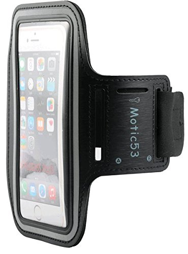 [해외]키 홀더와 함께 실행하는 Motic53 스포츠 유니버설 암밴드/Motic53 Sports Running Universal Armband with Key Holder