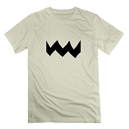 Charlie Brown Halloween Costume Men's T Shirt Natural XL (Charlie Brown Ghost Costume)