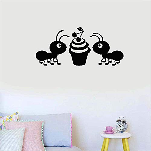 Removable Wall Decals Inspirational Vinyl Wall Art Ant for Living Room Bedroom Nursery Kids Room ()