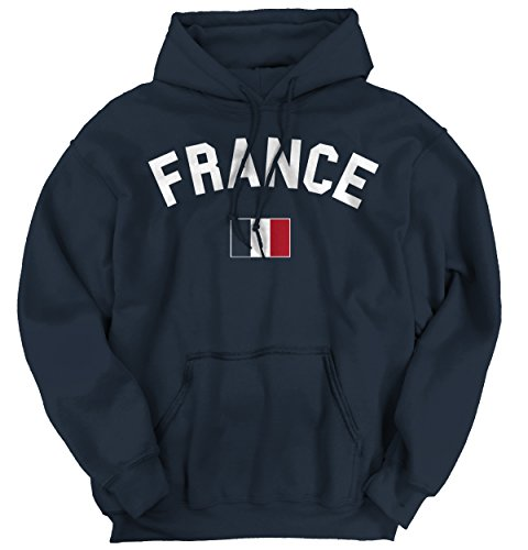 France Flag World Cup Soccer French National Flag Pride Hoodie