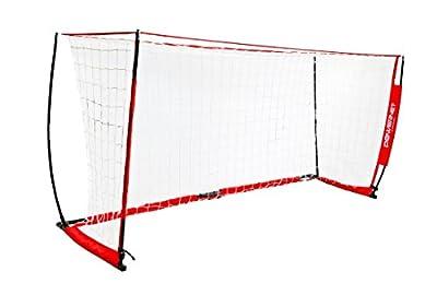 PowerNet Soccer Goal 12x6 Portable Bow Style Net