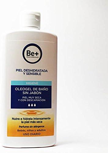 Be+ Piel Deshidratada y Sensible Oleogel De Baño Sin Jabón Cuidado ...