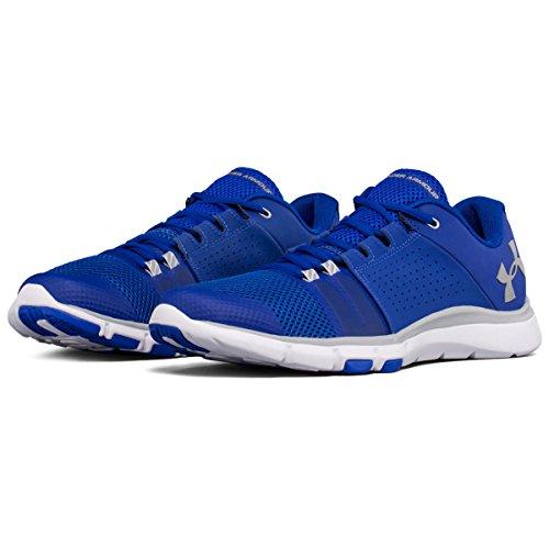 Under Armour Ua Strive 7, Chaussures de Fitness Homme, Bleu (Royal), 44/45 EU
