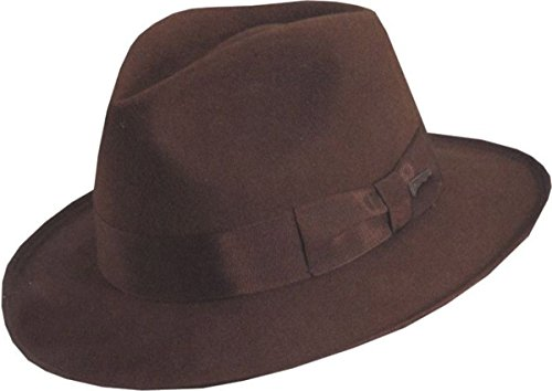 Rubie's Indiana Jones Deluxe Hat Medium