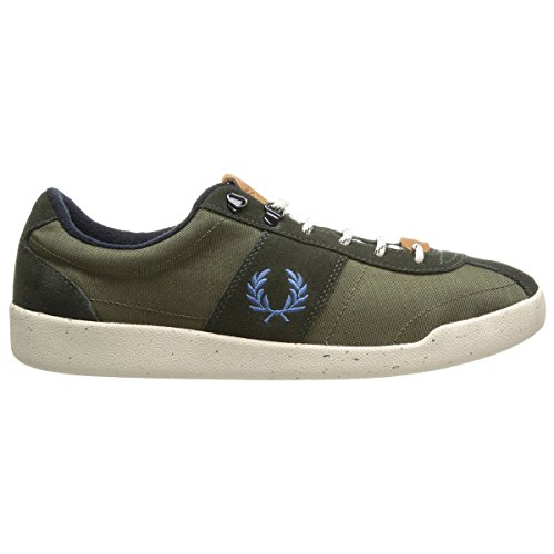 Fred Perry Men's Stockport Cordura Fashion Sneaker, Hunting