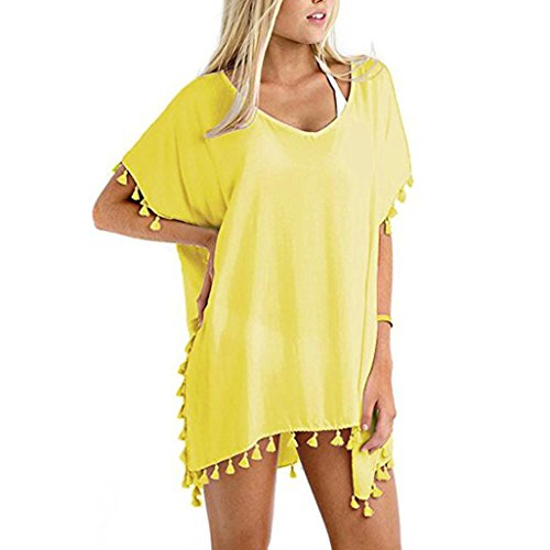 Big Promotion! Wintialy Womens Chiffon Summer Sun Protective Loose Swimsuit Bikini Beach Cover-Up from Wintialy women clothes