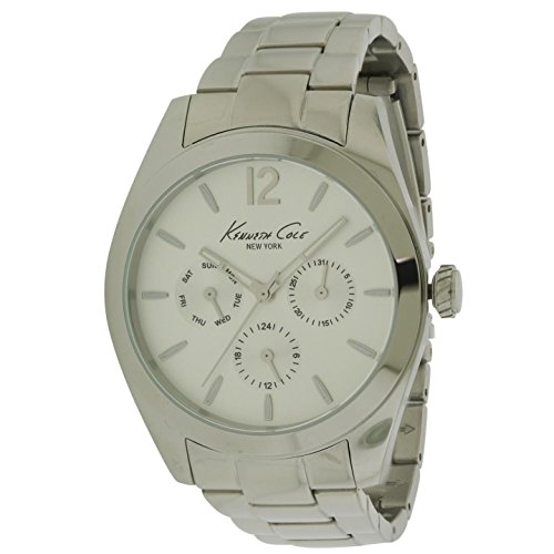(Kenneth Cole New York Women's Dress Japanese-Quartz Watch with Stainless-Steel Strap, Silver, 16 (Model: 10027823))