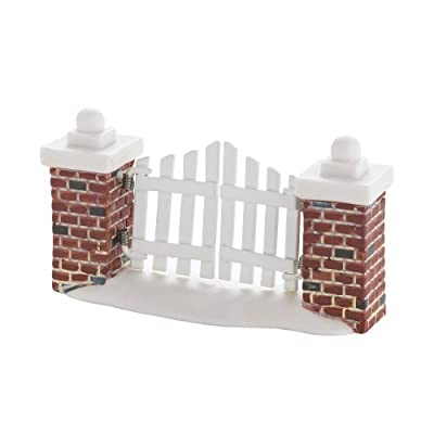 Department 56 Decorative Accessories for Village Collections, Picket Lane Gate General, 0.98-Inch