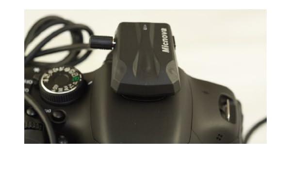 MICNOVA: cámara réflex digital receptor GPS receptor con cable ...