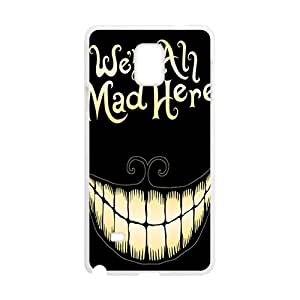 We Are All Mad Here Bestselling Creative Stylish High Quality Hard Case For Samsung Galaxy Note4