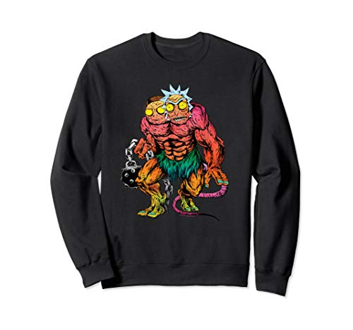 (Rick and Morty Two Headed Monster Sweatshirt)