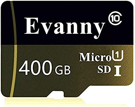 400GB Micro SD SDXC Memory Card High Speed Class 10 with Micro SD Adapter