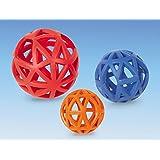 NOBBY Spielzeug GITTERBALL VOLLGUMMI für Hunde 7,0 cm (Durchmesser)