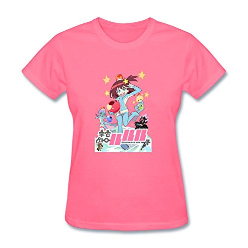 ZHENGXING Women's New Space Patrol Luluco Key Visual Poster Short Sleeve T-Shirt L ColorName