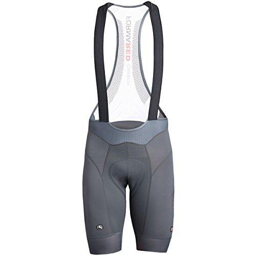 Giordana FR-C Pro Bib Short - Men's Grey, XL (Bib Premium Shorts)